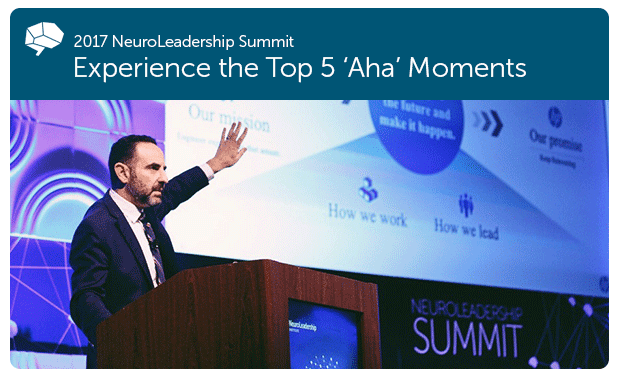 Experience the Top 5 'aha' Moments » Transform Thinking and Performance