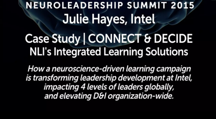 Intel Manager Capability Case Study » Transform Thinking and Performance